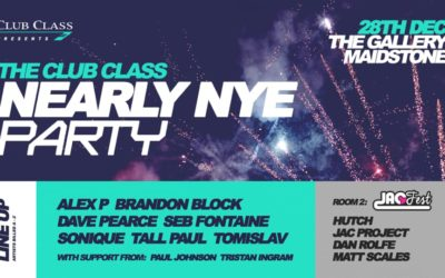 Club Class Nearly NYE Party – 28/12/19