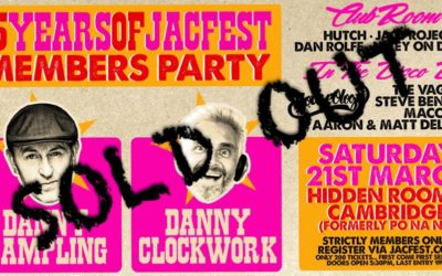 15 Years Of Jacfest Members Party *Sold Out